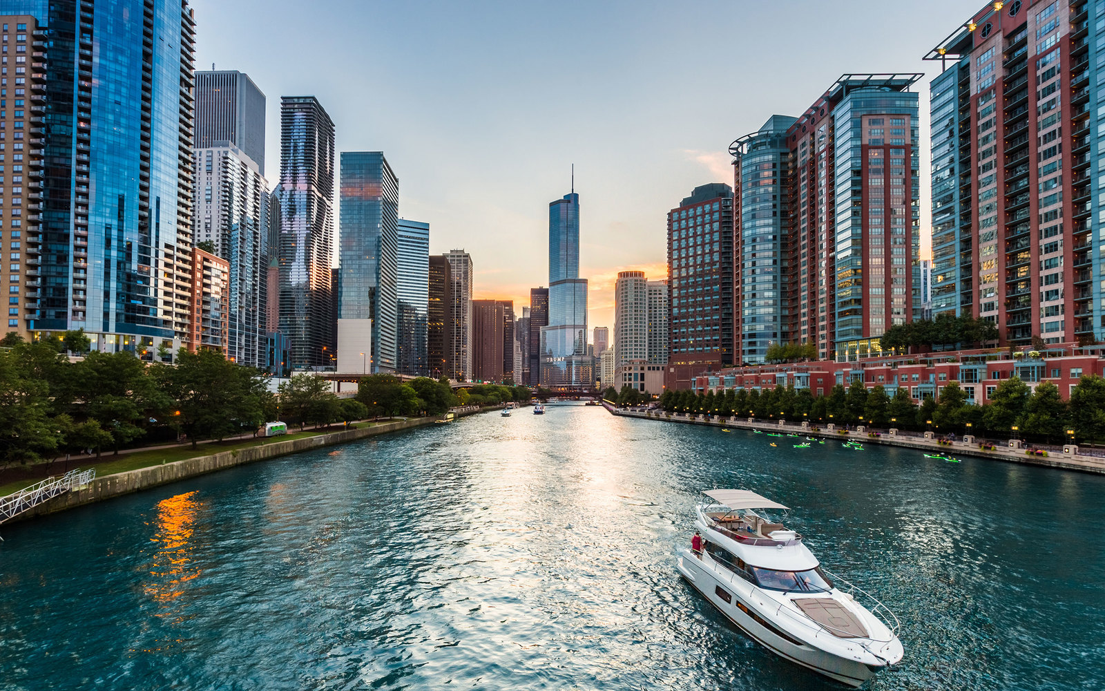 lakeside chicagos lakeshore drive - HD 2112×1320